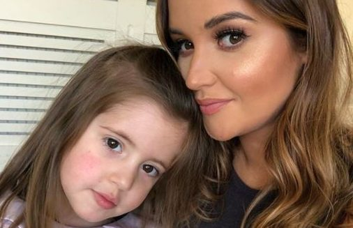 Jacqueline Jossa's daughter starts singing and acting lessons