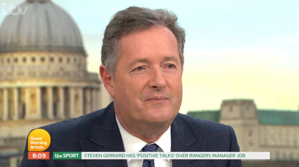 Piers Morgan reveals huge fear he has for son Spencer