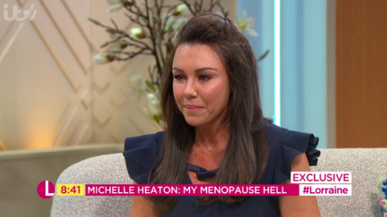 """Michelle Heaton opens up about early menopause """"hell"""""""