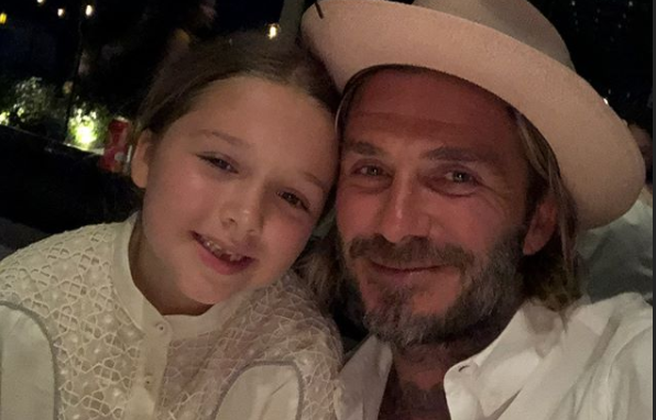 Harper Beckham's VERY expensive birthday present for David