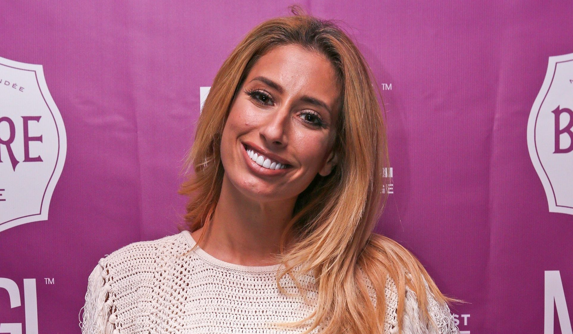 Stacey Solomon shares picture to celebrate Pride