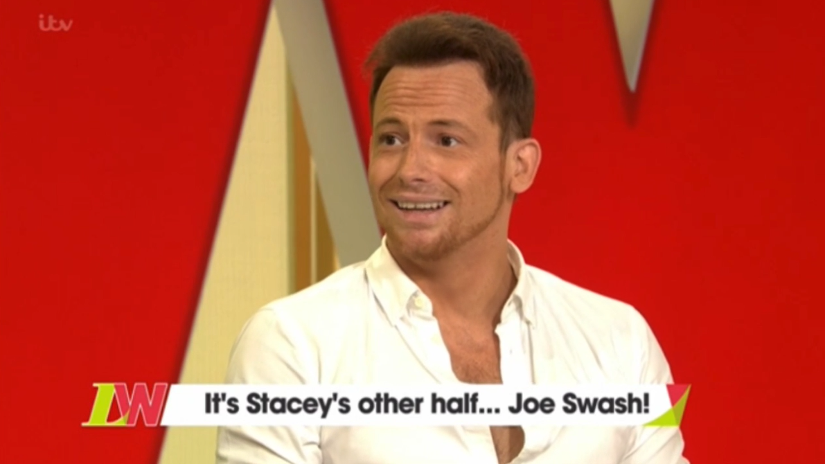 Joe Swash gets surprise proposal - but it's not Stacey!
