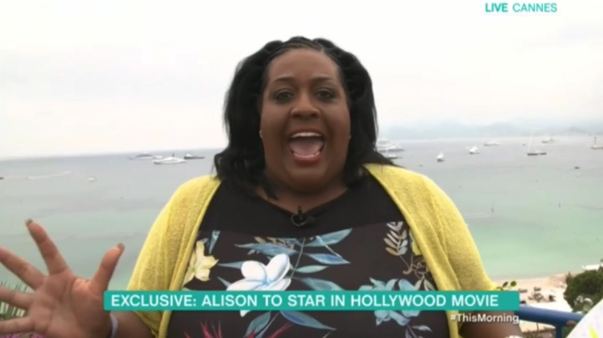 Alison Hammond lands role in a Hollywood movie