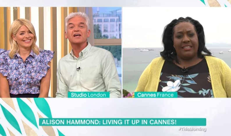 Holly and Phil jokingly mock Alison Hammond's blunder