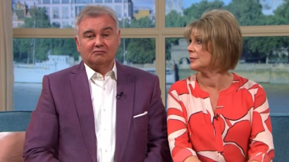 Eamonn Holmes makes cheeky sex joke to Ruth Langsford