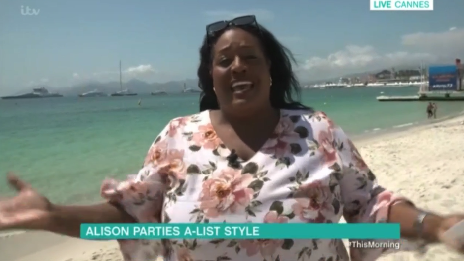 Alison Hammond gets asked out by Hollywood star!