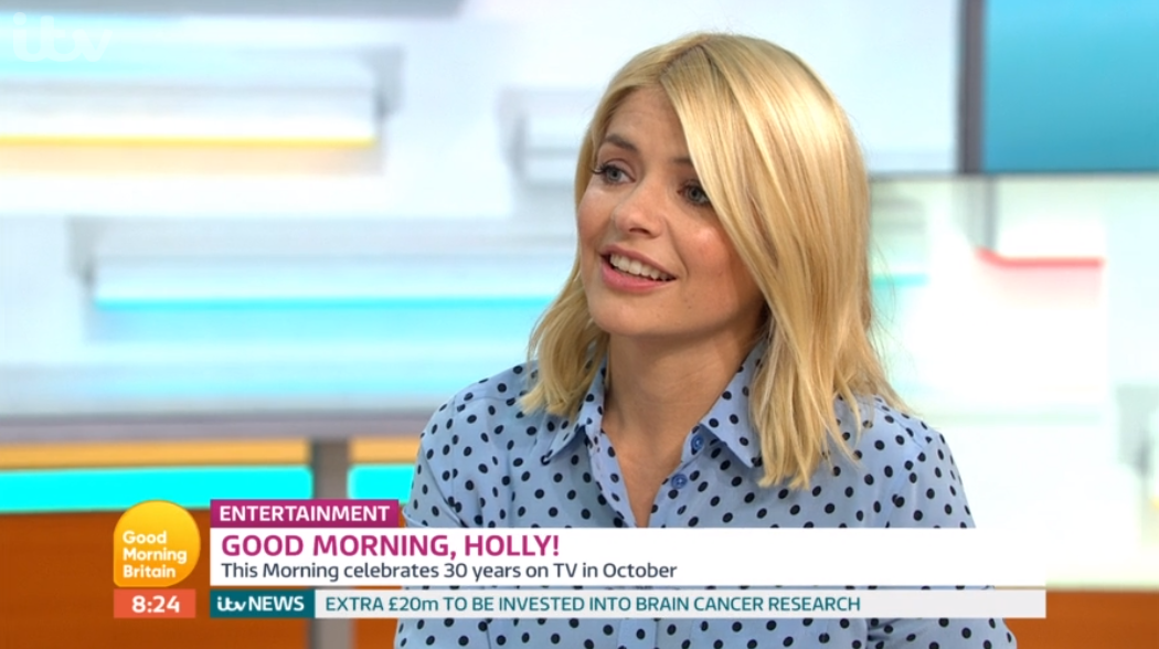 Holly Willoughby takes cheeky swipe at Piers Morgan