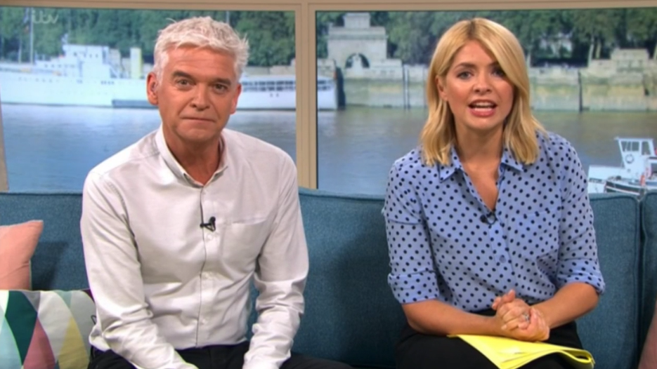 Phillip Schofield offers to be UK's next Eurovision entry