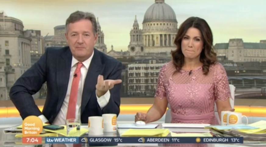 Piers Morgan apologises to Holly Willoughby after controversial tweet