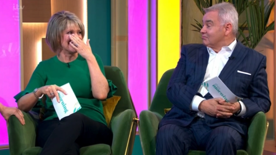 Eamonn unimpressed as Ruth FORGETS their wedding date