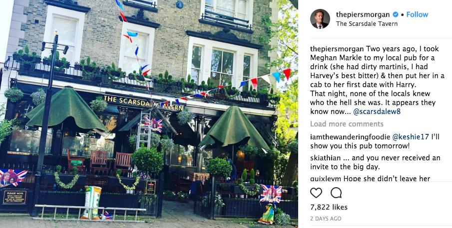 Piers Morgan/Instagram
