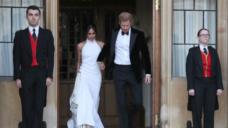You can now buy a copy of Meghan Markle's reception dress