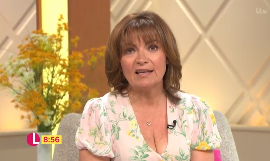 Lorraine Kelly reacts to receiving honorary doctorate