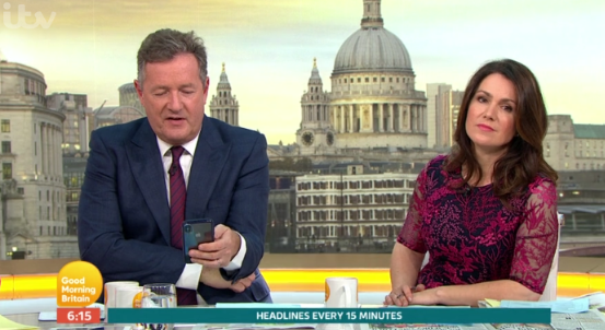 GMB viewers demand 'rude' Piers Morgan apologise