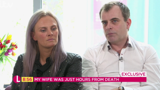 Corrie's Simon Gregson reveals how wife Emma nearly died due to ectopic pregnancy