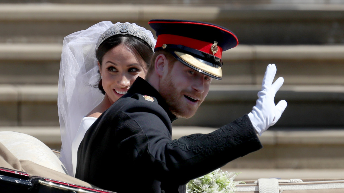 Meghan and Harry's private wedding photos leaked