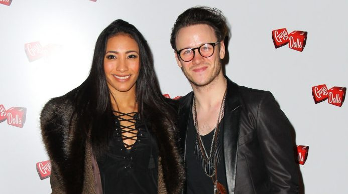 "Karen Clifton says she'd be ""happy"" if Kevin started dating again"
