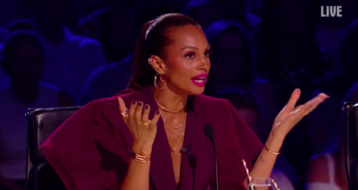 "Britain's Got Talent judge Alesha Dixon reacts to ""hooker"" jibe"