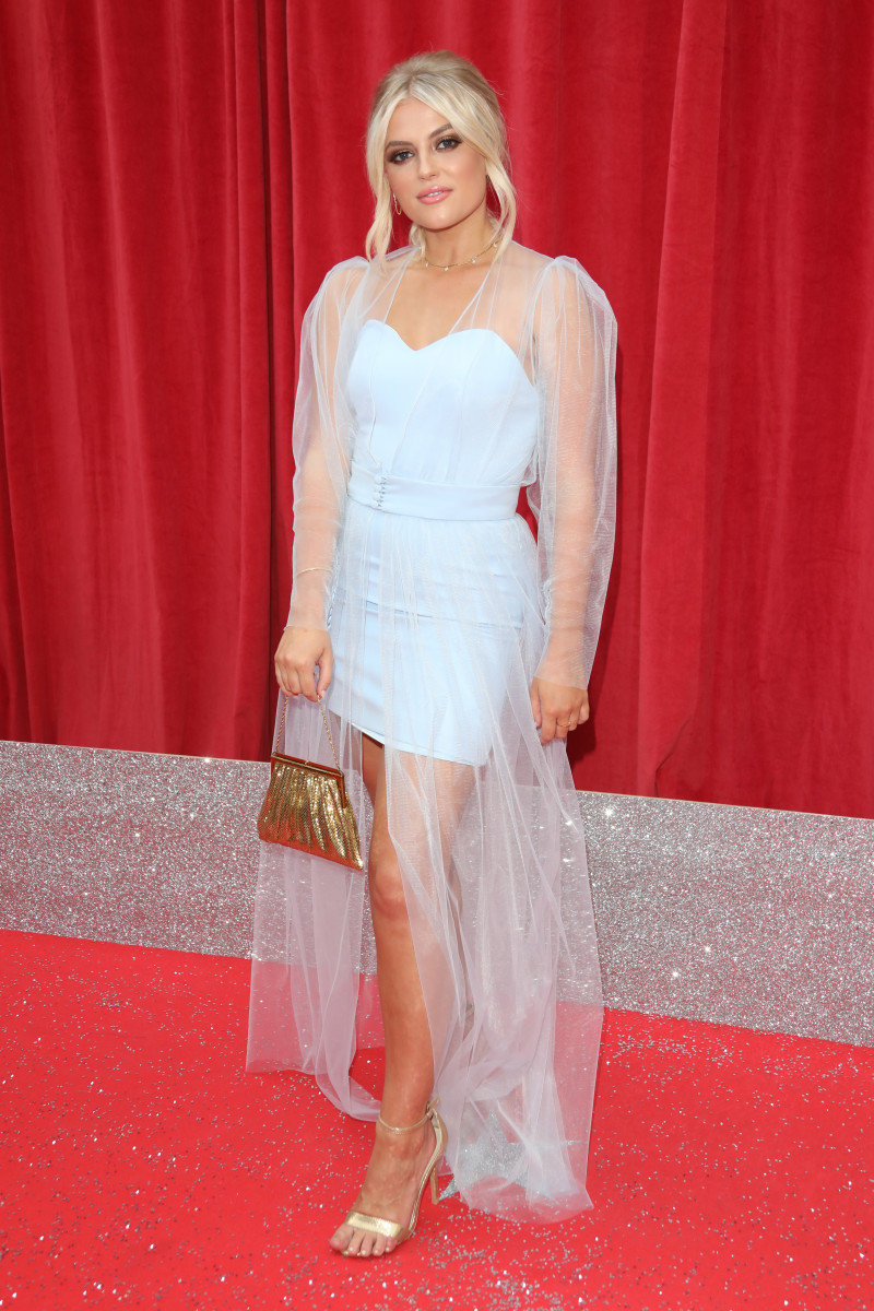 Lucy Fallon at British Soap Awards