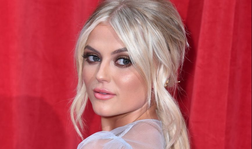 Lucy Fallon reveals painful injury after British Soap Awards