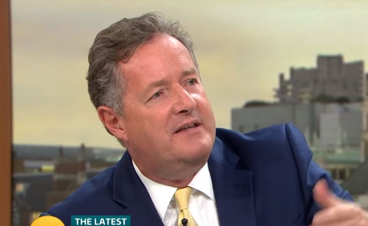 Piers Morgan claims he has to colour match outfits with Susanna Reid