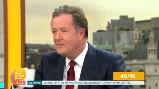 Piers Morgan dares boss to sack him after swearing during Love Island rant