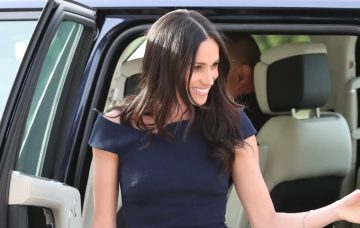 Meghan Markle and mum Doria at Clivedon House Hotel