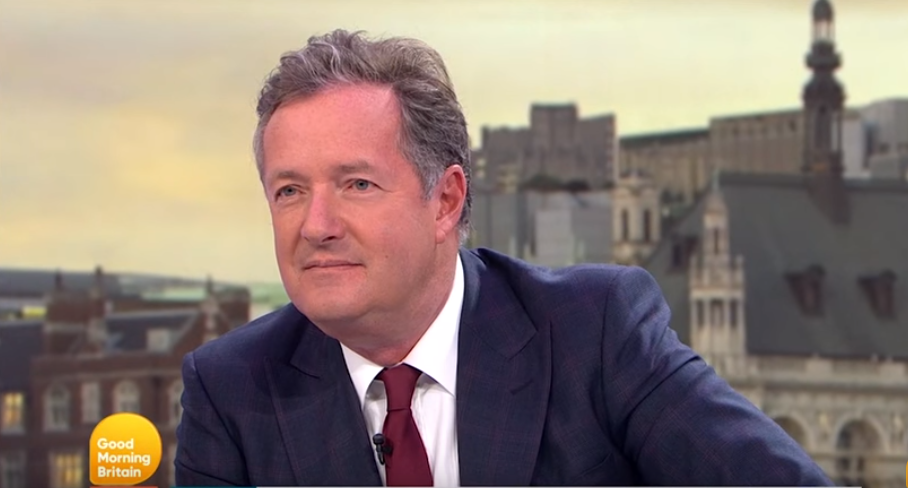 GMB viewers correct Piers Morgan after Heathrow fail