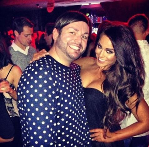 Vicky Pattison and best friend Paul Burns