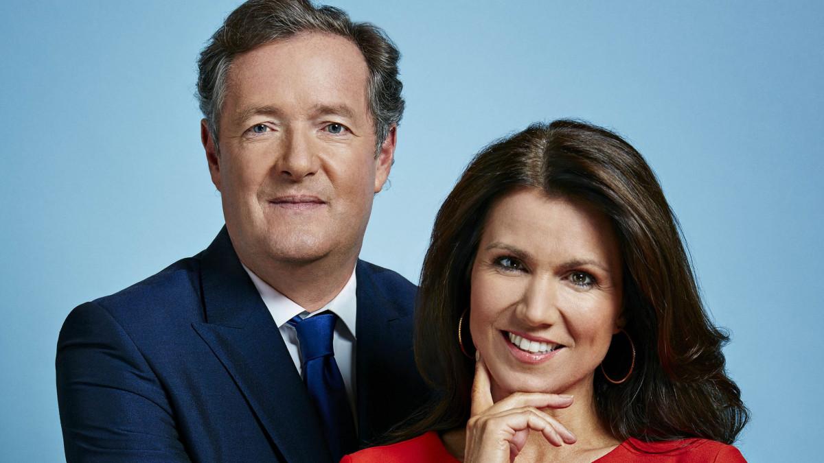 Piers Morgan and Susanna Reid to host Good Evening Britain