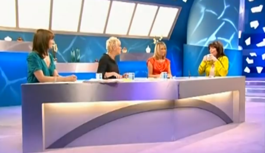 Denise Welch on Loose Women (Credit: ITV)