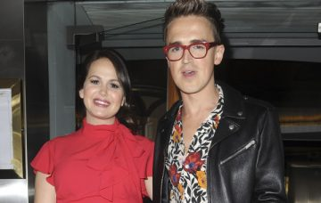 Giovanna Fletcher, Tom Fletcher May 31, 2018 Stars at the Eve Of Man book launch party in London, England.