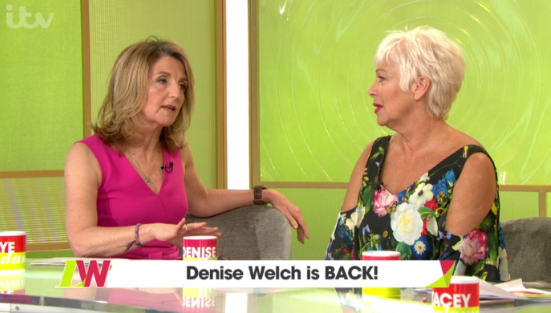 Denise Welch's Loose Women co-stars make shock confession about her marriage