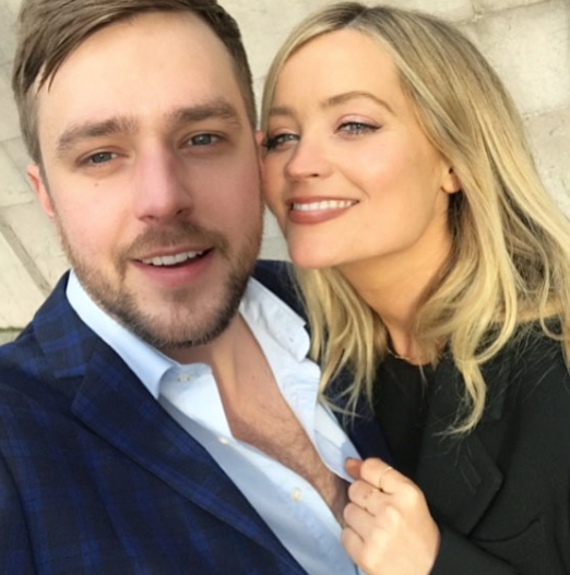 Iain Stirling and Laura Whitmore (Credit: Instagram)