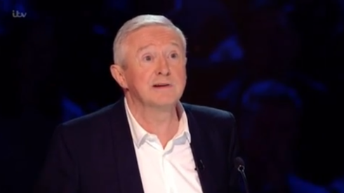 Louis Walsh on The X Factor (Credit: ITV)