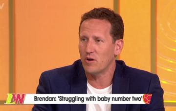 Brendan Cole on Loose Women (Credit: ITV)