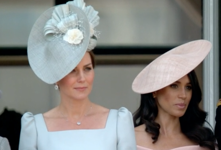 Hats off! Meghan Markle and Kate Middleton dazzle