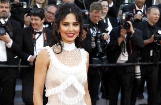 Cheryl Tweedy at Cannes (Credit: WENN)
