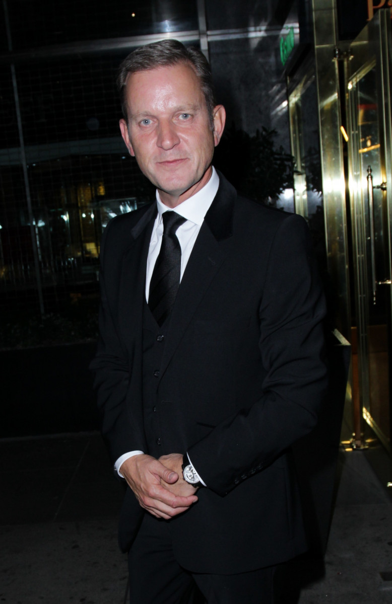Jeremy Kyle September 07, 2015 Celebrities seen arriving at the 2015 TV Choice Awards at The Hilton Hotel, Park Lane in London