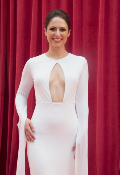 Coronation Street's Nicola Thorp at the British Soap Awards (Credit: WENN)