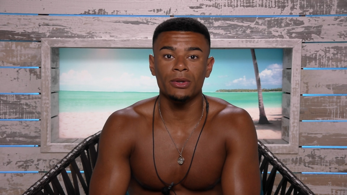 Wes Nelson on Love Island