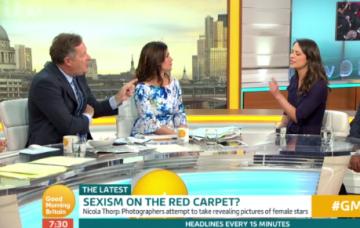 Sexism debate on Good Morning Britain (Credit: ITV)