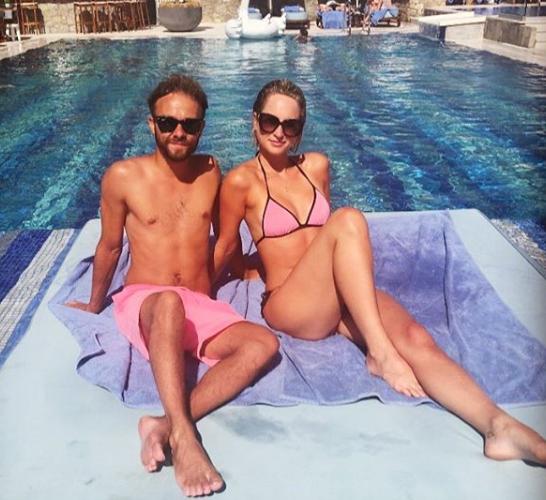 Jack P Shepherd and Hanni Treweek on holiday (Credit: Instagram)