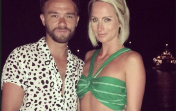 Jack P Shepherd and Hanni Treweek on holiday (Credit: Instagram)