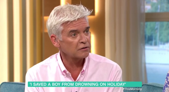 Phillip Schofield reveals how he once saved his dad's life