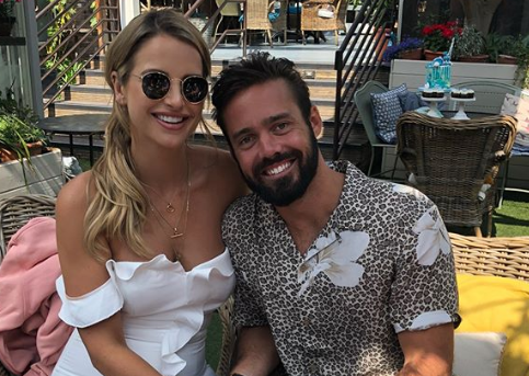 Spencer Matthews marries pregnant fiancée Vogue Williams in Scotland