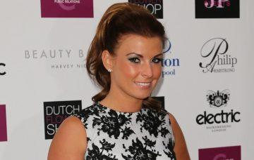 Coleen Rooney and Danielle Lloyd attend Philip Armstrong's new store opening in Liverpool