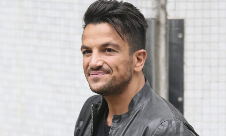 """Peter Andre """"scared"""" about son Junior's knowledge as he turns 13"""