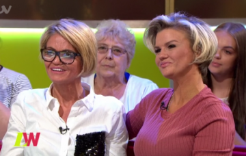 Kerry Katona and Danniella Westbrook on Loose Women (Credit: ITV)