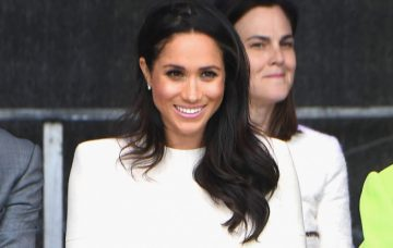 The Duchess Of Sussex Undertakes Her First Official Engagement With Queen Elizabeth